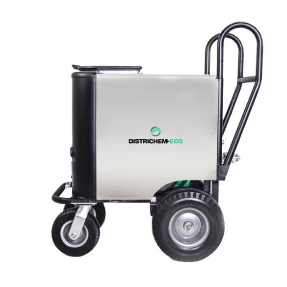 Dry ice cleaning device